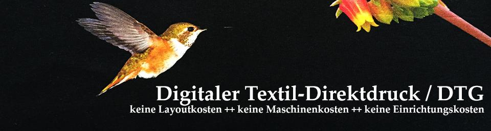 Banner Textildirektdruck